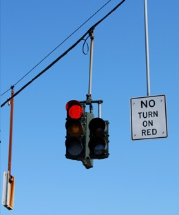 No Turn on Red USA